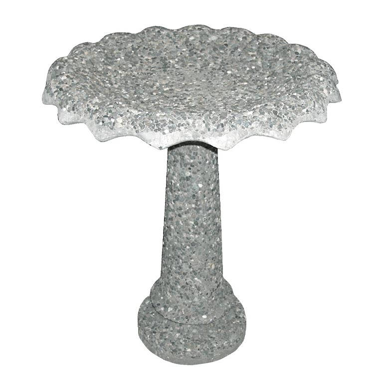 Cement Bird Bath: BRD-2