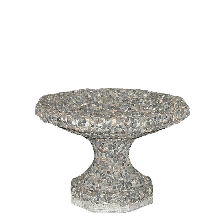 Concrete Bird Bath: BRD-8