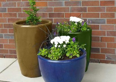 Concrete Xinh Planters - Multi Colors