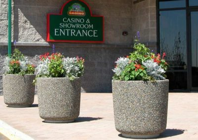 Large Aggregate Stone Planters