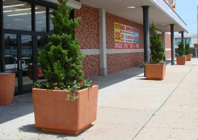 Large Cement Commercial Planters