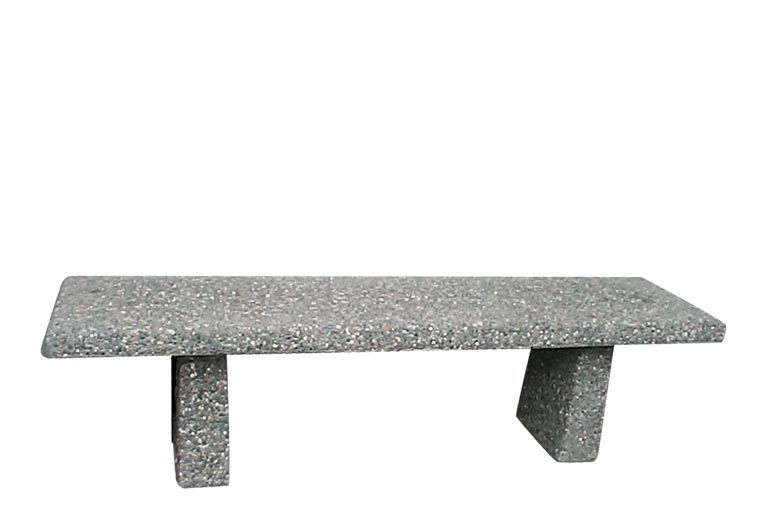 Straight Concrete Bench: SB-2-72