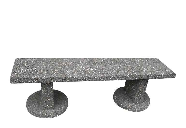 Straight Cement Bench: SB-3-72P