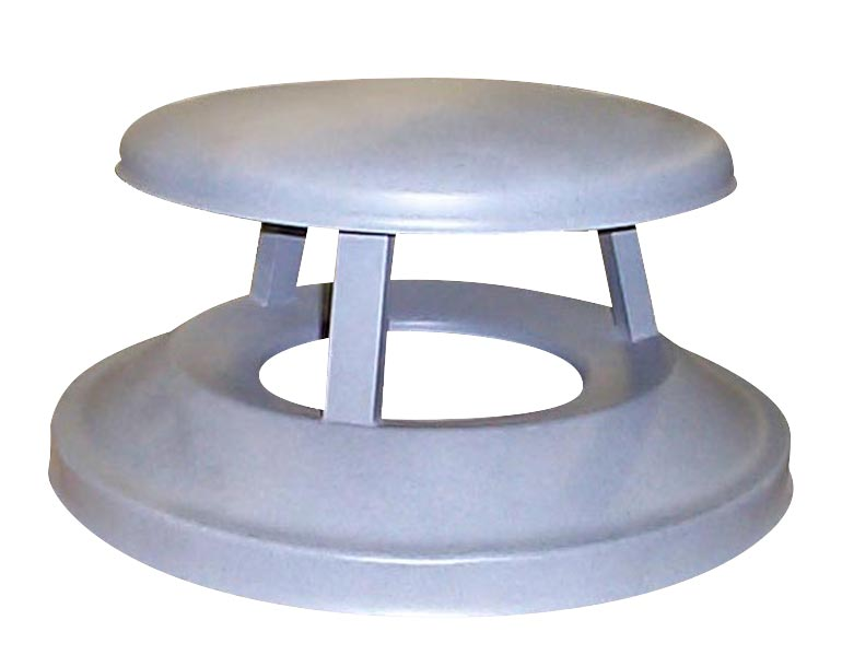 Concrete Trash Receptacle Lids: TR-6M